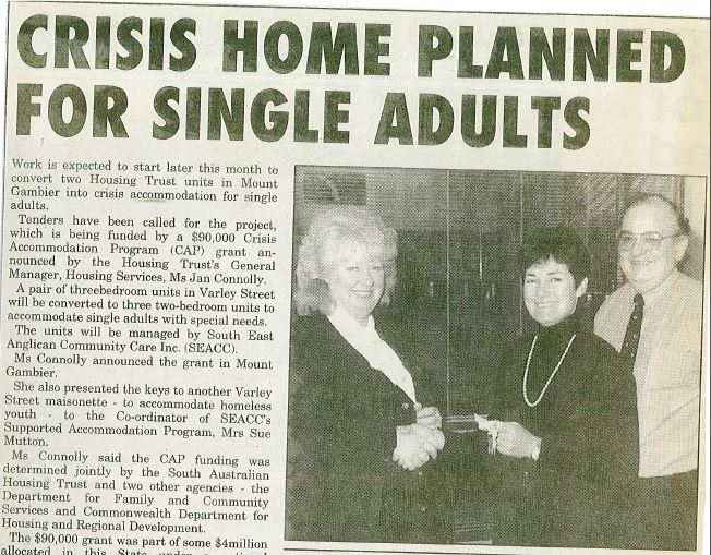 19950602 Crisis home planned for single adults picture