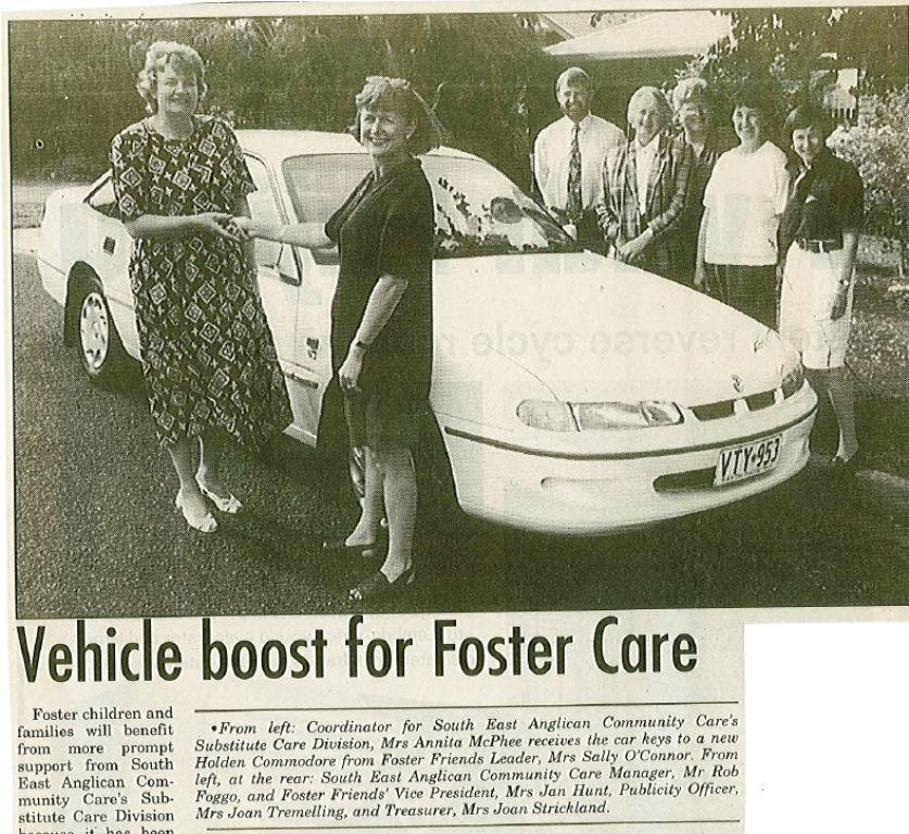 19960126 vehicle boost for foster care