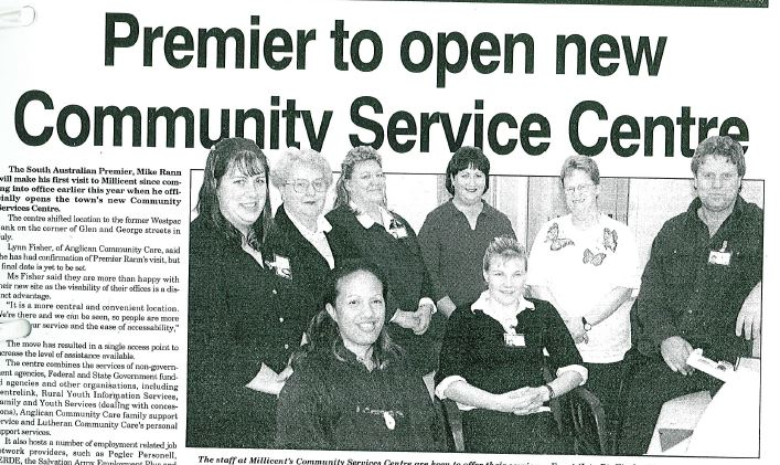 20020715 Premier to open new community service centre picture