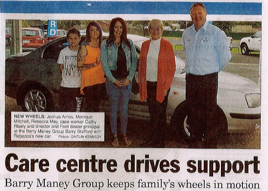 2014 care centre drives support