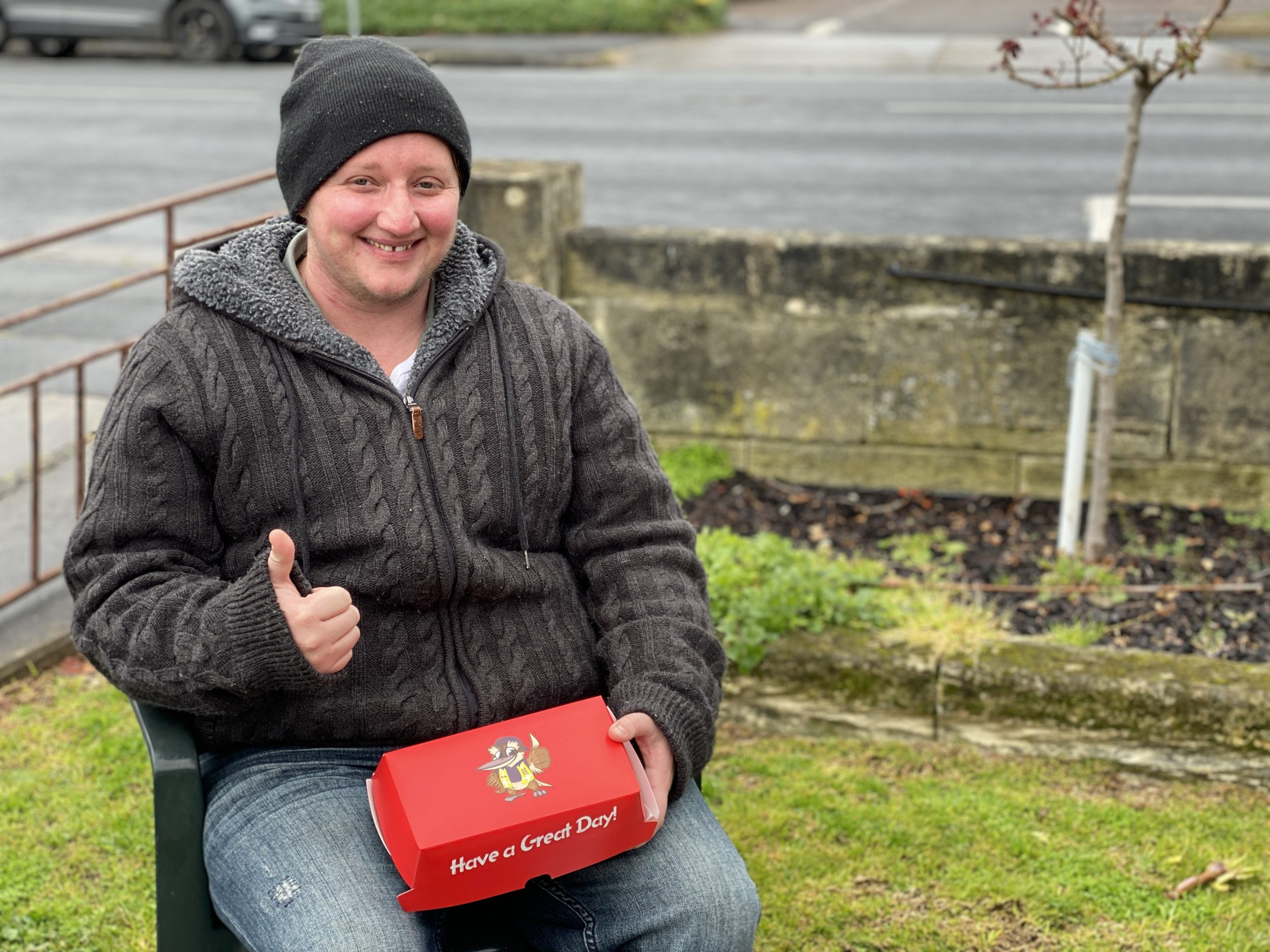 HAPPY TO BE HOUSED: Mount Gambier's Mark Collins was assisted by ac.care to secure a Housing SA home after his private rental property was sold.