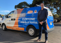 BUILD A SUSTAINABLE MODEL: ac.care chief executive Shane Maddocks has called for a more sustainable JobSeeker rate that lifts unemployed country South Australians out of poverty and provides hope for a better future.